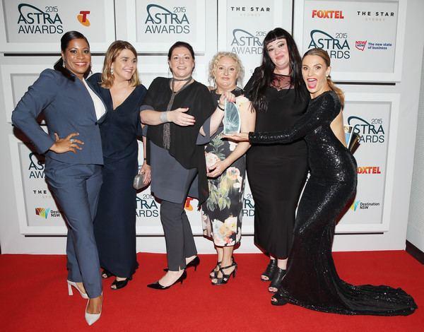 Celia Ireland Celia Ireland and Amanda Crittenden Photos ASTRA Awards