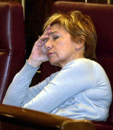 Celia Villalobos Celia Villalobos saca a la ultraizquierdista que lleva