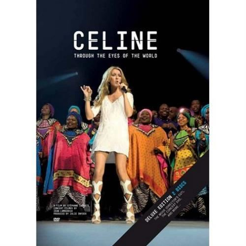 Celine: Through the Eyes of the World Celine Dion Celine Through The Eyes Of The World UK DVD 504103
