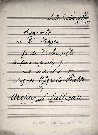 Cello Concerto (Sullivan)