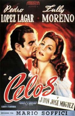 Celos (film) movie poster
