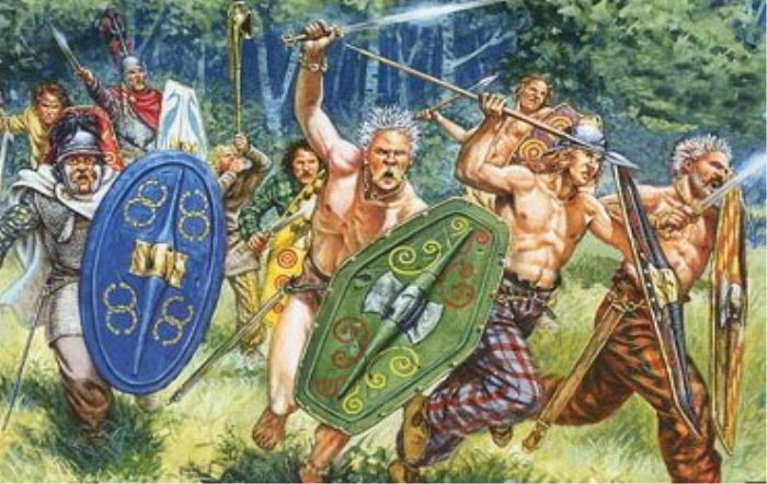 Celtic Britons The Celtic Horde Of the Britons