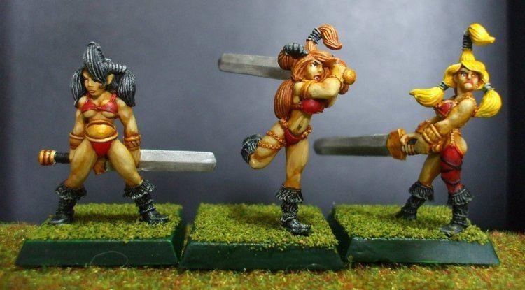 Celtos Celtos Swordmaidens Rankers by Majere613 on DeviantArt