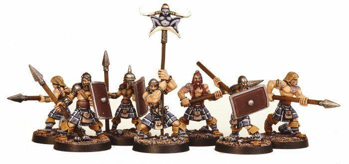 Celtos Brigade Models