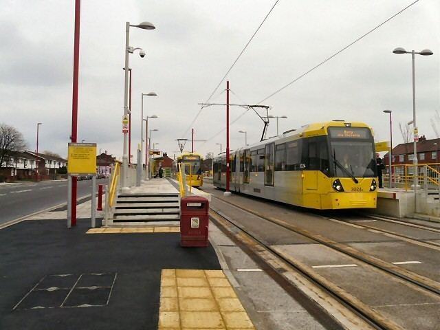 Cemetery Road tram stop