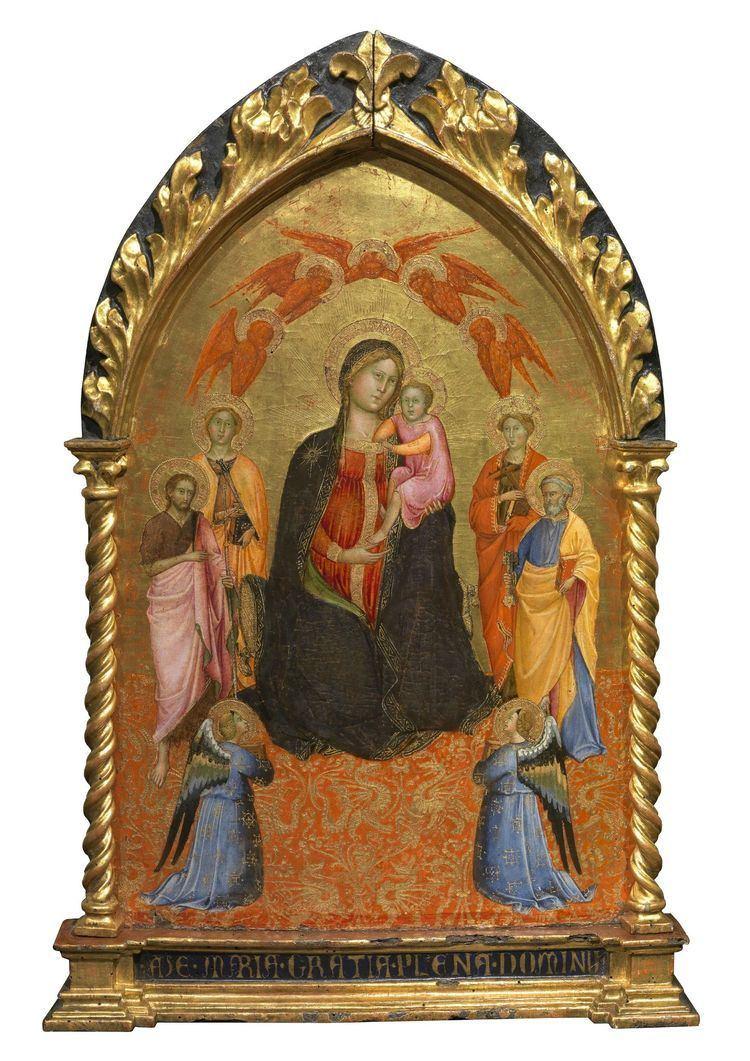 Cennino Cennini Madonna and Child with Angels and Saints 1400 Cennino Cennini