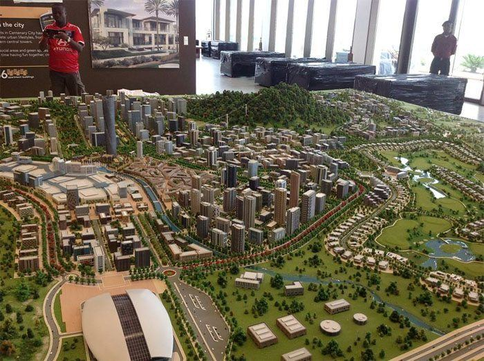 Centenary City Construction of US1806bn Centenary City in Nigeria begins