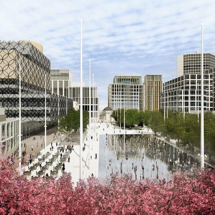 Centenary Square Centenary Square redesign winner revealed Birmingham Post