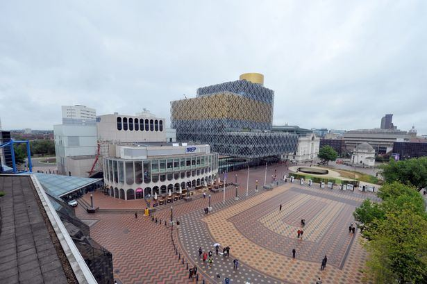 Centenary Square Birmingham Remembrance Day parade Centenary Square more open for