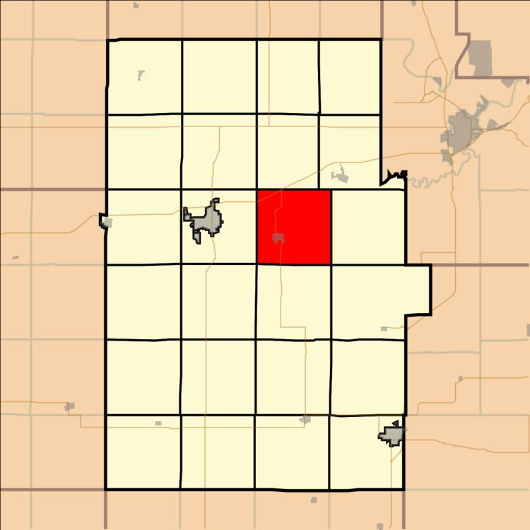 Center Township, Dickinson County, Kansas
