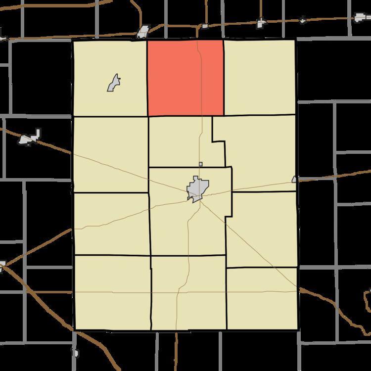 Center Township, Rush County, Indiana