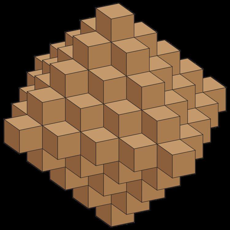 Centered octahedral number