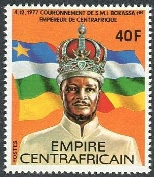Central African Empire Central African Republic Stamps and postal history StampWorldHistory