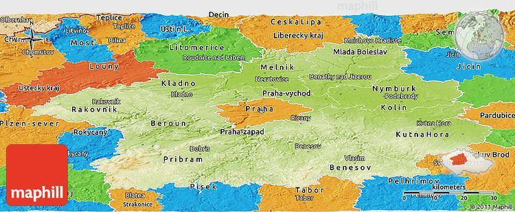 Central Bohemian Region Beautiful Landscapes of Central Bohemian Region