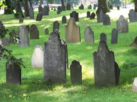 Central Burying Ground, Boston