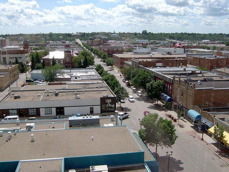 Central Business District, Prince Albert, Saskatchewan