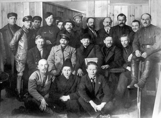 Central Committee elected by the 8th Congress of the Russian Communist Party (Bolsheviks)