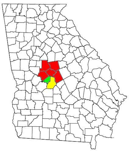 Central Georgia