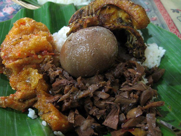Central Java Cuisine of Central Java, Popular Food of Central Java