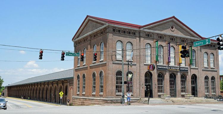 Central of Georgia Depot and Trainshed