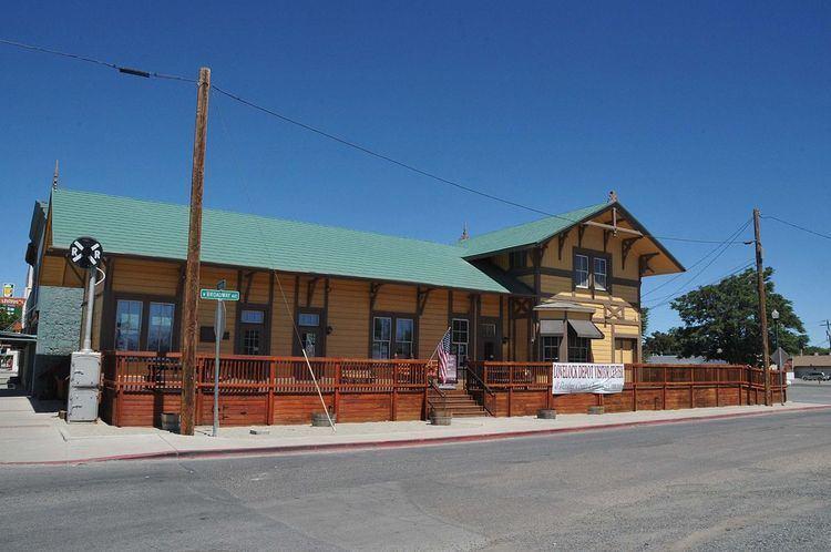 Central Pacific Railroad Depot (Lovelock, Nevada)