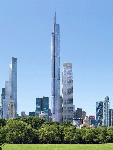 Central Park Tower Central Park Tower 225 West 57th Street NYC Condo Apartments