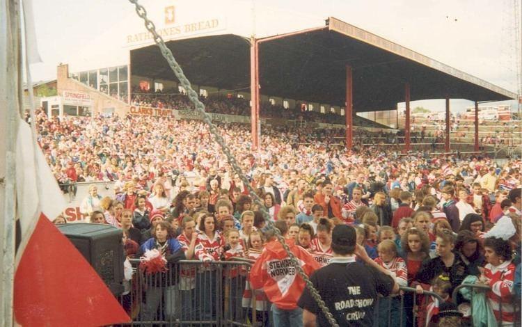 Central Park (Wigan) Wigan Warriors Rugby League Fan Site wwwcherryandwhitecouk