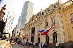 Central Post Office Building (Santiago) httpsuploadwikimediaorgwikipediacommonsthu