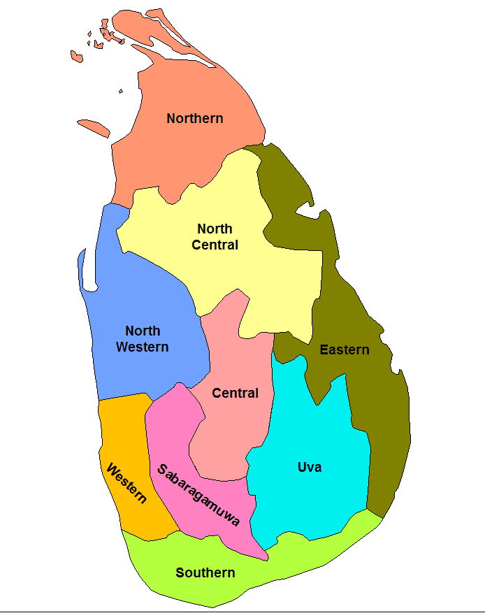 Central Province, Sri Lanka in the past, History of Central Province, Sri Lanka
