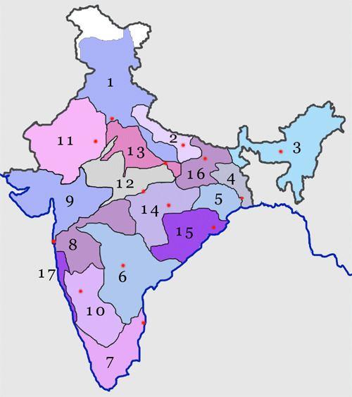 Central Railway zone