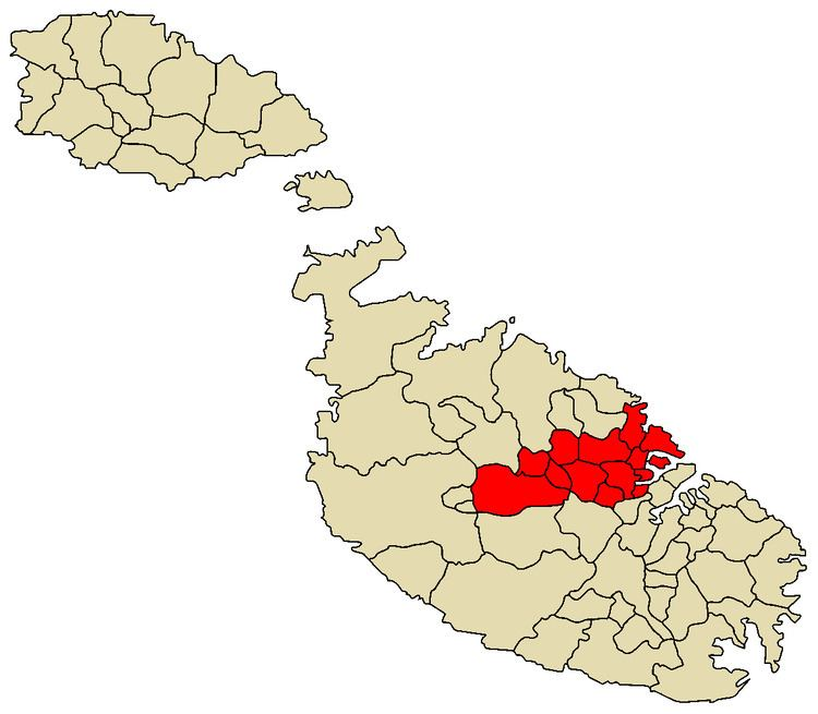 Central Region, Malta