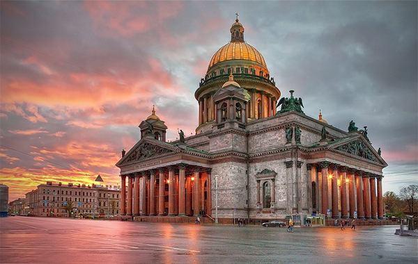 Central Saint Petersburg