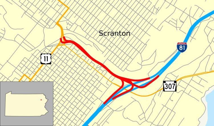 Central Scranton Expressway
