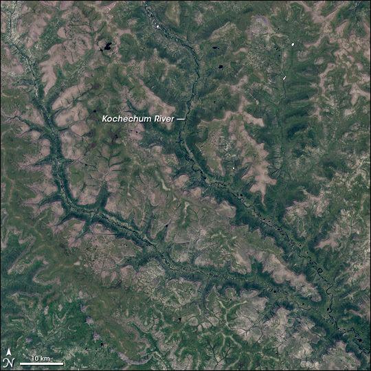 Central Siberian Plateau eoimagesgsfcnasagovimagesimagerecords700079