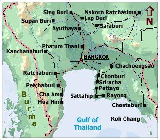 Central Thailand ThailandTravelTodaycom Central Thialand
