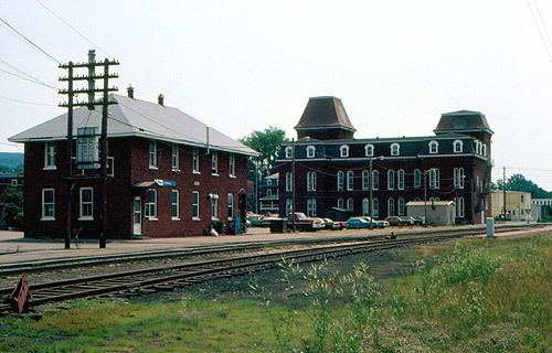 Central Vermont Railroad Headquarters