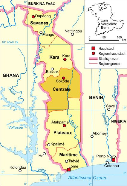 Centrale Region, Togo