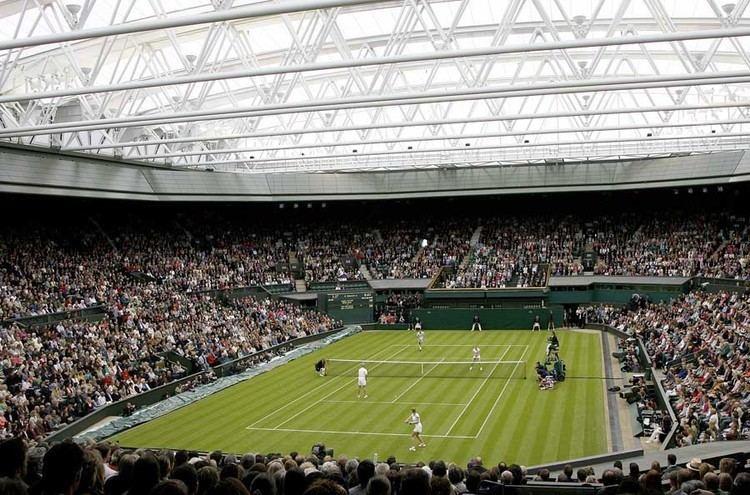 Centre Court Wimbledon Retractable Roof Centre Court London Tennis earchitect