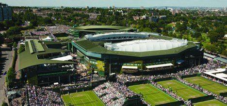 Centre Court Wimbledon39s Centre Court sliding roof designed by Populous