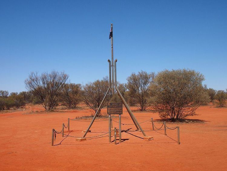 Centre points of Australia