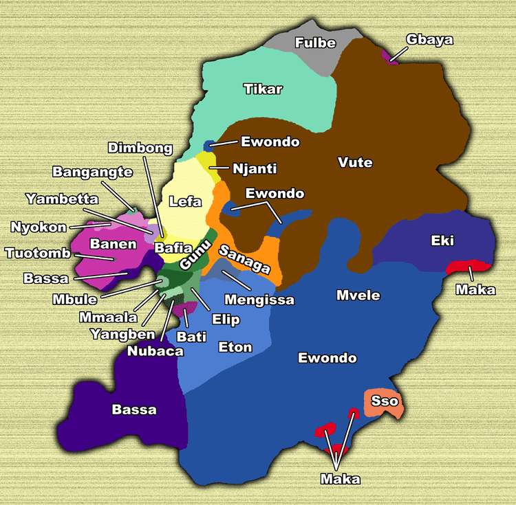 Centre Region (Cameroon) in the past, History of Centre Region (Cameroon)
