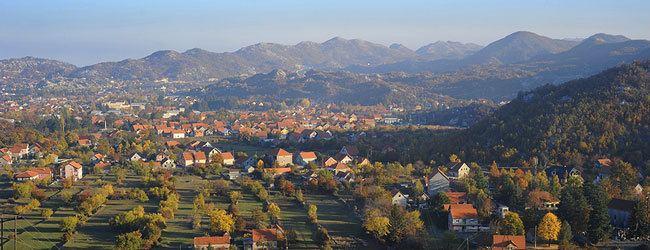 Cetinje Beautiful Landscapes of Cetinje