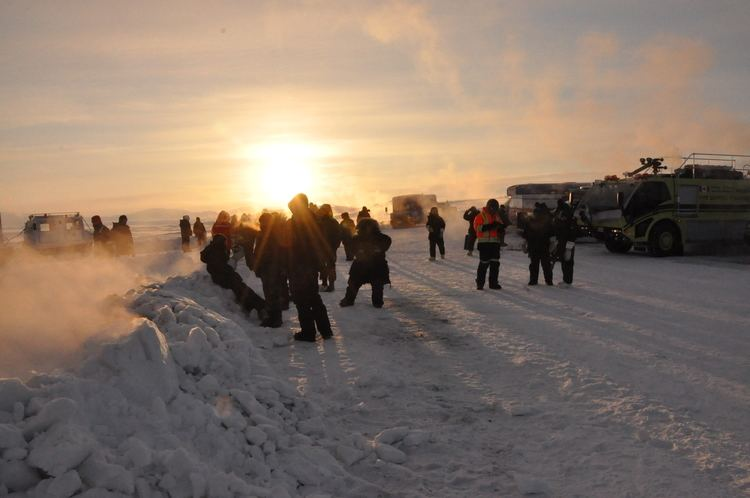 CFS Alert News Royal Canadian Air Force News Article Welcoming the sun
