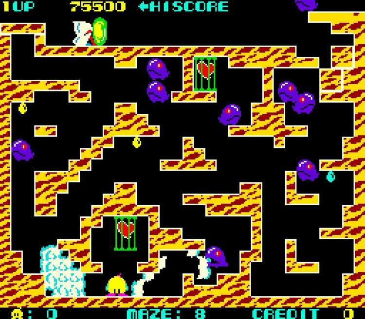 Chack'n Pop Arcade Game Chack N39 Pop 1983 Taito YouTube