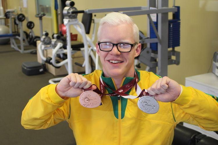 Chad Perris Perthborn Paralympian prepares for Rio VisAbility