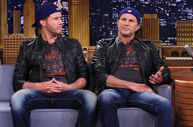 Chad Smith Will Ferrell Chad Smith Host Red Hot Benefit DrumOff Billboard