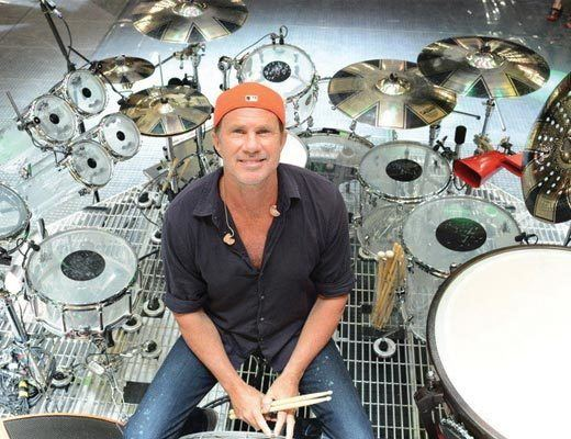 Chad Smith Chad Smith Brings Home The Message Kids Need Making Music Magazine
