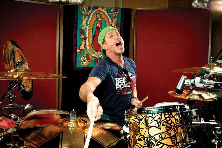 Chad Smith RHCPs Chad Smith Modern Drummer Magazine