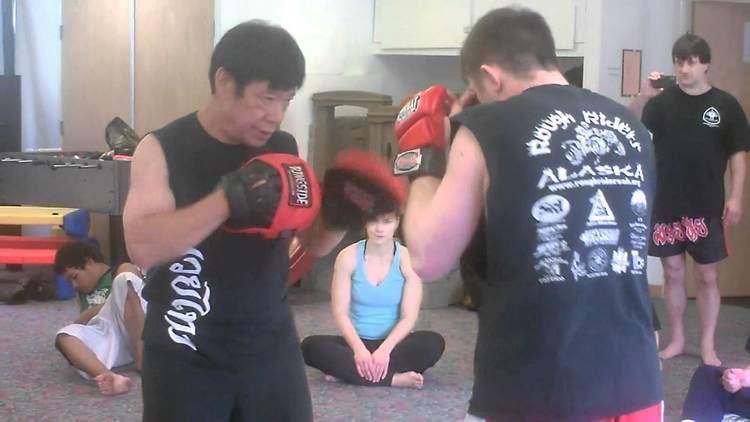 Chai Sirisute Grand Master Chai Sirisute holding focus mitts YouTube