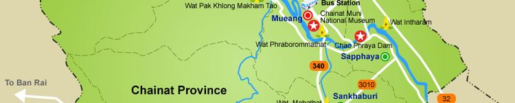 Chainat Province Tourist places in Chainat Province